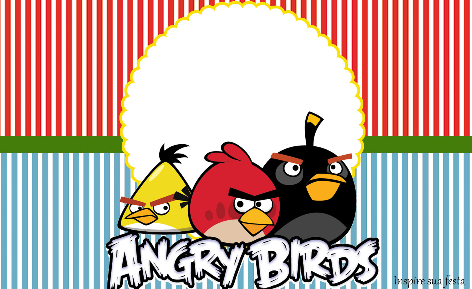 Angry Birds: Free Printables Candy Bar Labels and Invitations ...