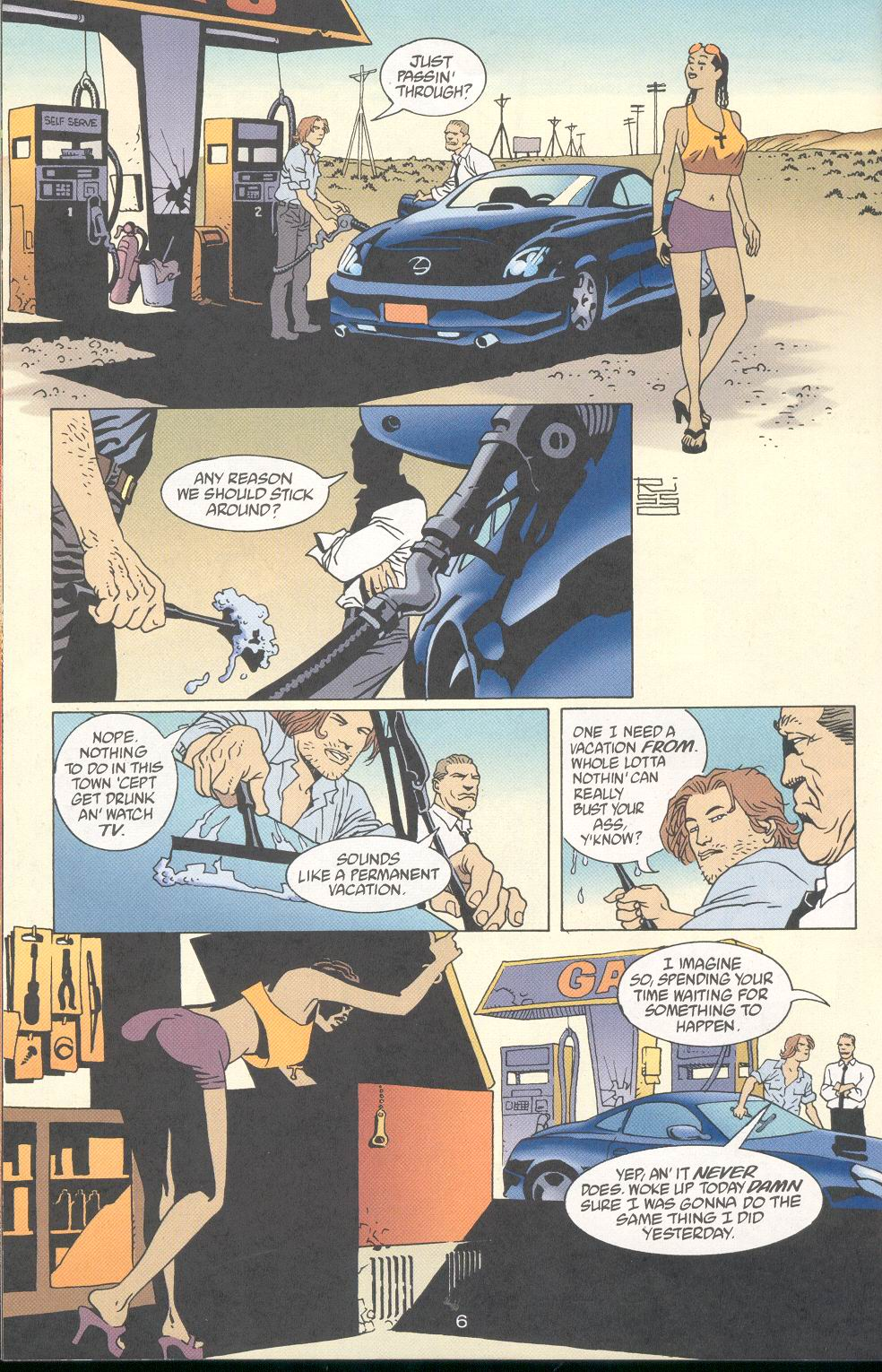 Read online 100 Bullets comic -  Issue #28 - 8