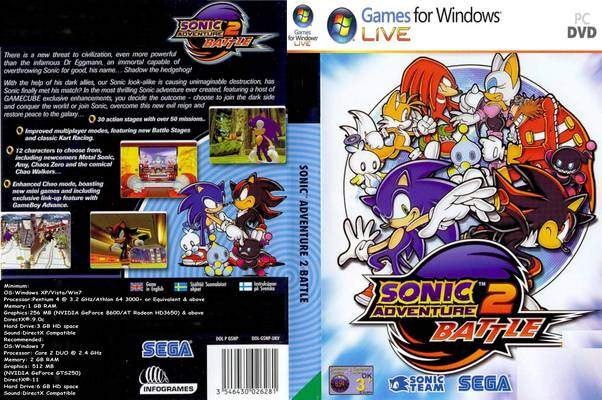 Cracks  Hacks Sonic Adventure 2  CRACK ONLY