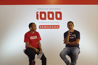 Ignition of 1000startup digital semarang
