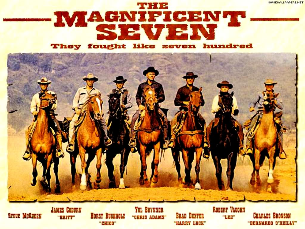 The Reluctant Psychoanalyst: The Magnificent Seven (Old School) and