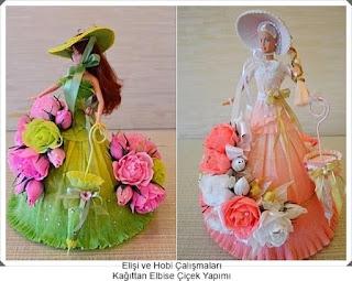 Elişi Çiçek Modelleri