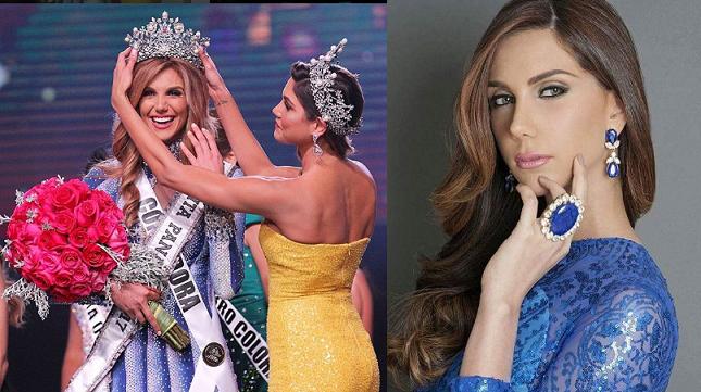 Laura Sofia De Sanctis is Miss Universe Panama 2017