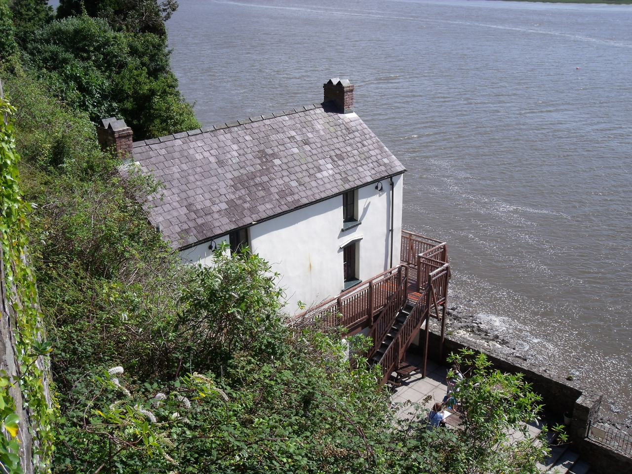 Dylan Thomas Boathouse Laugharne - things to do May Day Bank Holiday 2016 - motherdistracted.co.uk