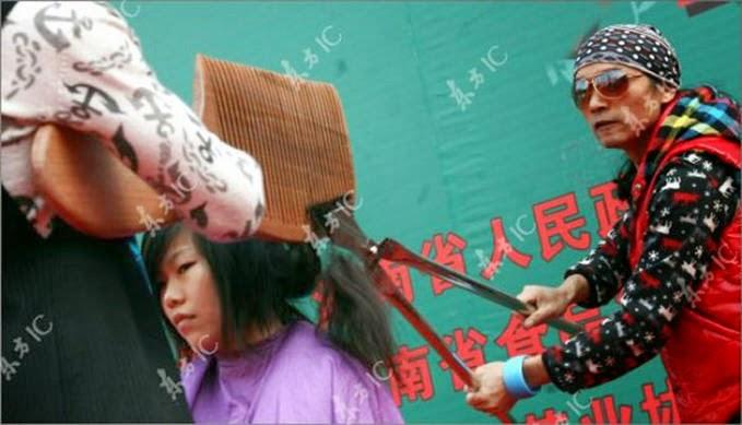Tukang Potong Rambut Gokil