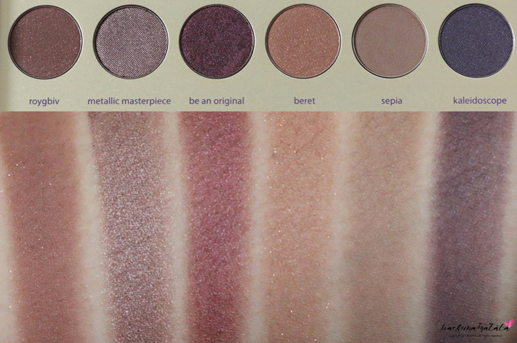 Tarte Tarteist Paint Palette Collector's Set Swatches Row 3