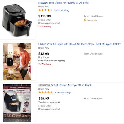 trending air fryers on ebay