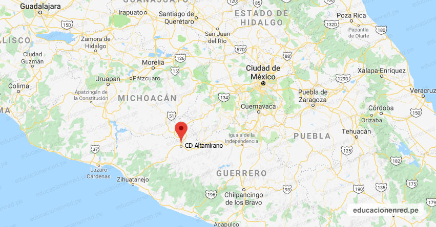 Temblor en México de Magnitud 4.1 (Hoy Martes 11 Agosto 2020) Sismo - Epicentro - CD. Altamirano - Guerrero - GRO. - SSN - www.ssn.unam.mx