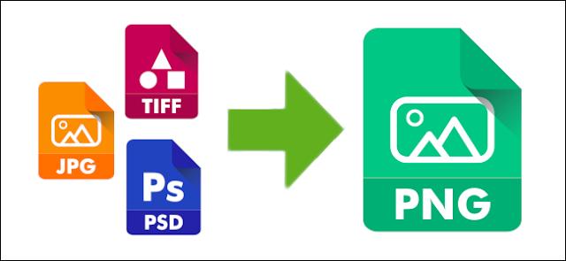 طريقة تحويل الصور إلى PNG بدون برامج على ويندوز