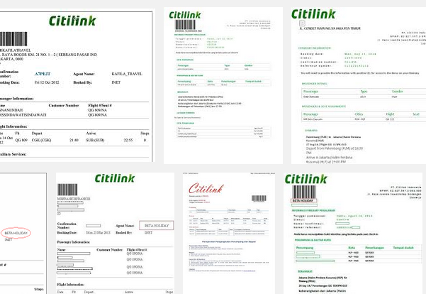 Cara Cetak Tiket Pesawat Citilink Online