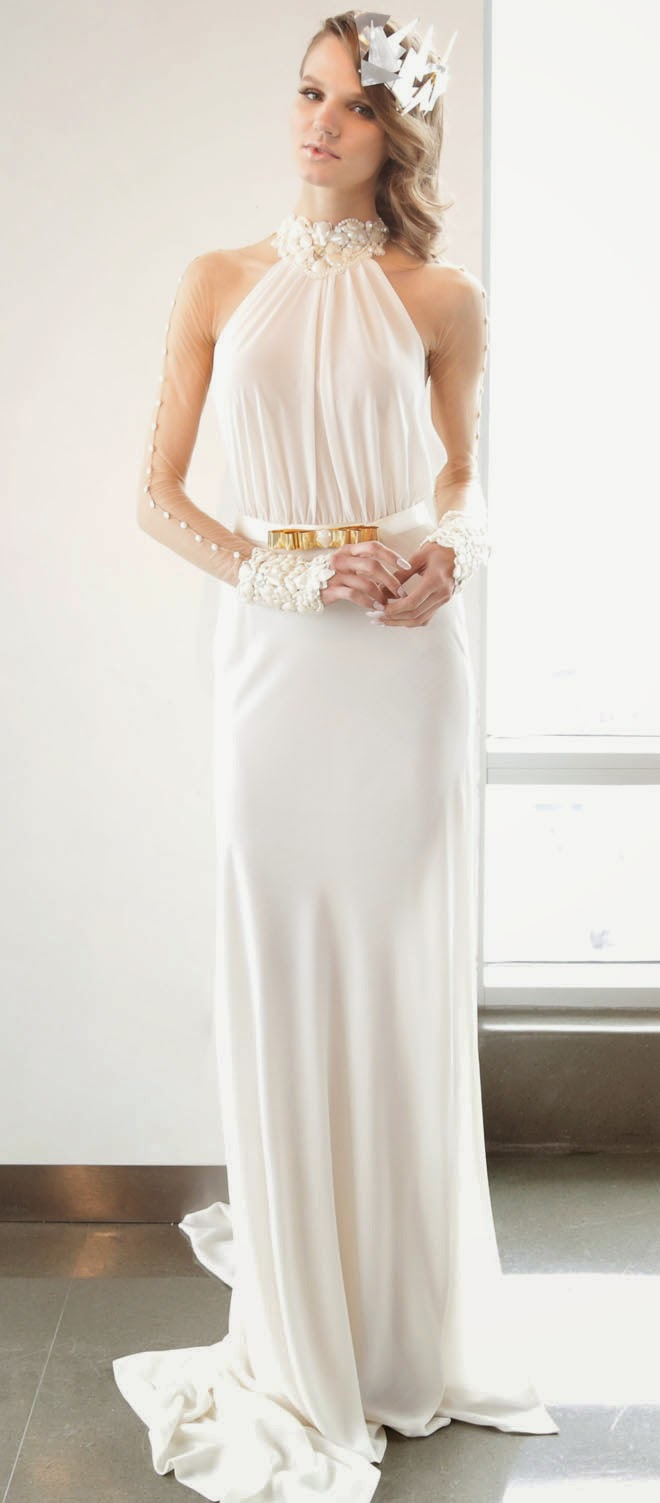 Galia Lahav Spring 2015 : La Dolce Vita wedding dress