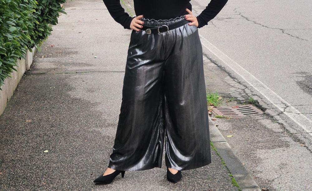 Tutorial diy pantaloni palazzo senza cartamodello curvy plus size