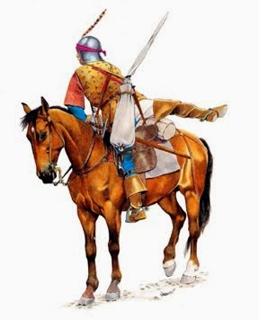 MEDIEVAL MOUNTED ARCHER