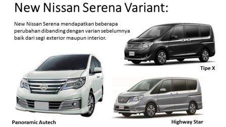 Nissan Serena Terbaru 2017