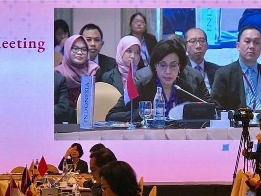 Dikritik Keras Fadli Zon, Sri Mulyani Sibuk di Pertemuan Menkeu ASEAN