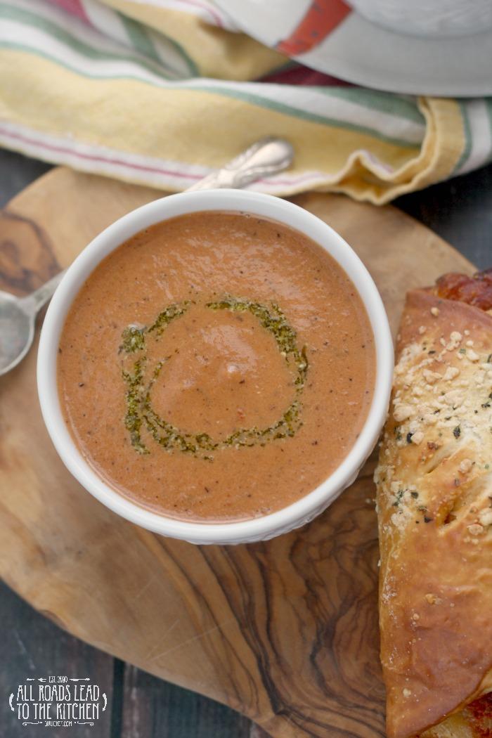 Creamy Charred Tomato Soup