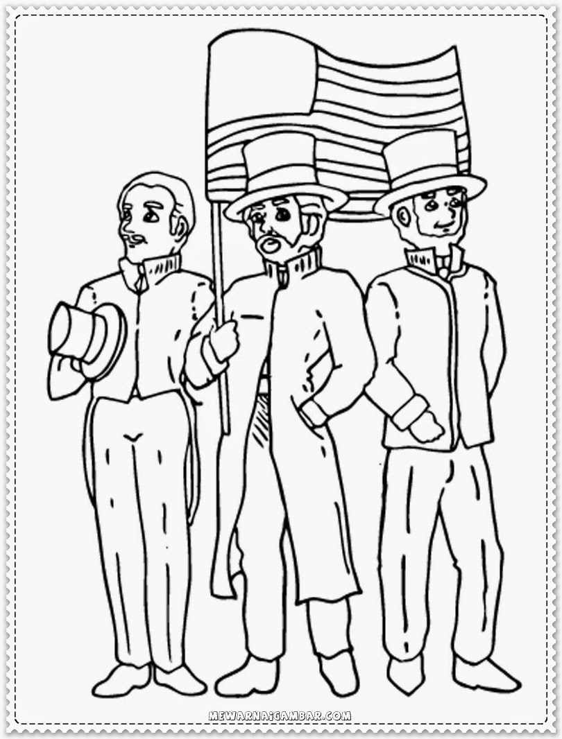Martin Luther King Holiday Coloring Pages