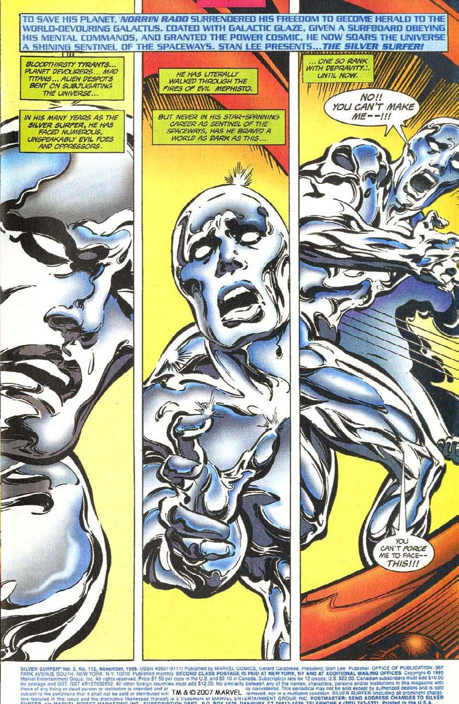 Read online Silver Surfer (1987) comic -  Issue #110 - 3