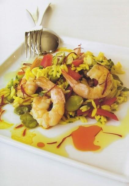 Κριθαράκι με λαχανικά και όστρακα, μια νηστίστημη συνταγή από την Πένυ Δαμτζή, διατροφολόγο διαιτολόγο