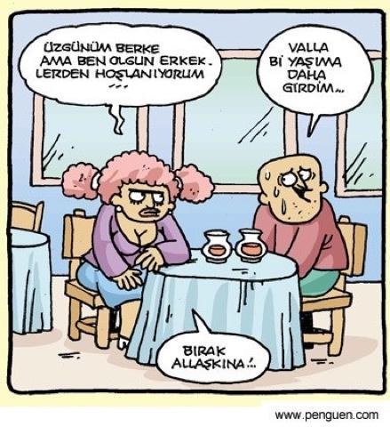 Yaş Karikatürü