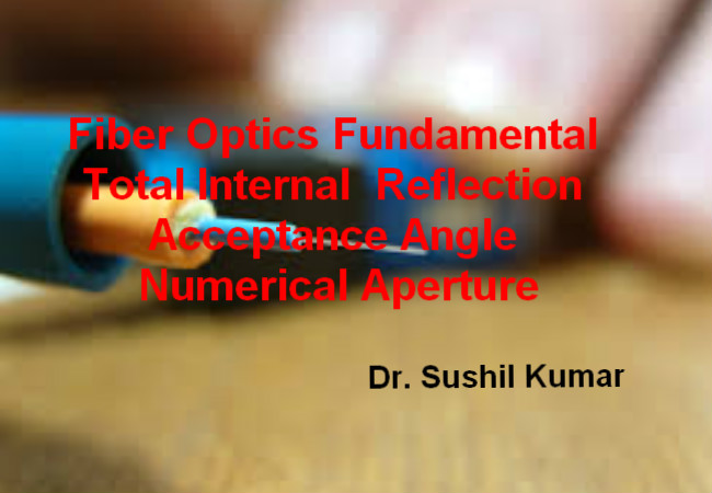Acceptance Angle and Numerical Aperture of Fiber Optics