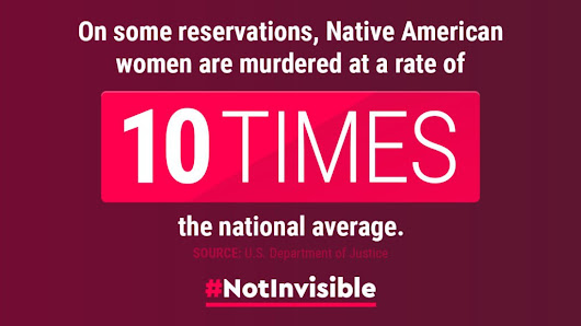 #NotInvisible - Native American Women's Equal Pay Day