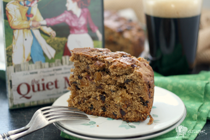 Irish Porter Cake inspired by The Quiet Man | #FoodnFlix