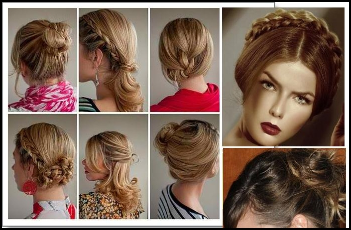 Wondrous Top 6 Easy Casual Updos For Long Hair Hairstyles Haircuts And Short Hairstyles For Black Women Fulllsitofus