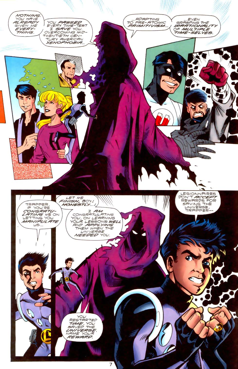 Legion of Super-Heroes (1989) 108 Page 6