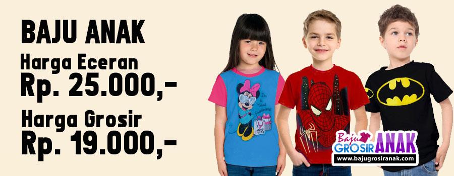 Baju Anak | Grosir Baju Anak | Karakter Disney dan Superhero