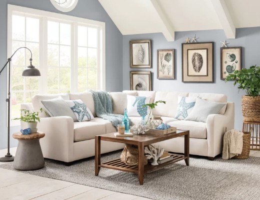 11 Classic Neutral Coastal Living Room Decor Ideas - Coastal Decor ...