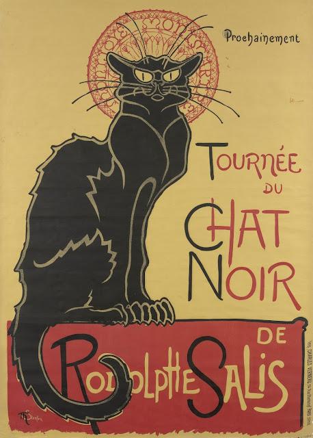 Le Chat Noir - Théophile Alexandre Steinlen, 1896