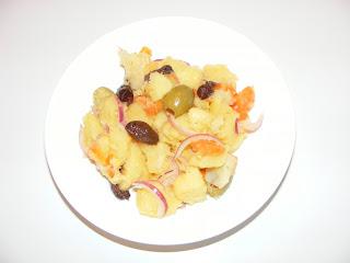 retete salata orientala, salata de legume fierte, retete de post, mancaruri cu legume, retete de mancare,