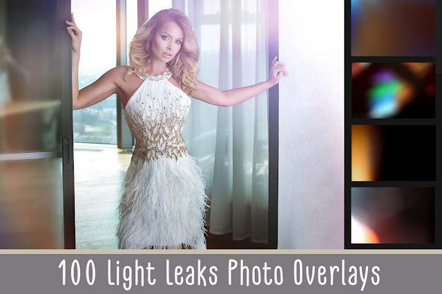 100+ Light Leaks Overlays