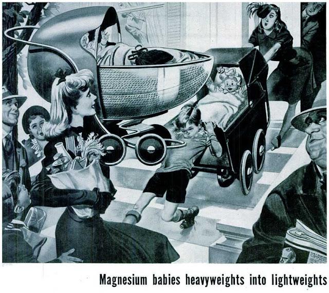Magnesium babies heavyweights into lightweights