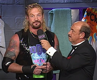 WCW Superbrawl VII Review - Mean Gene interviews Diamond Dallas Page