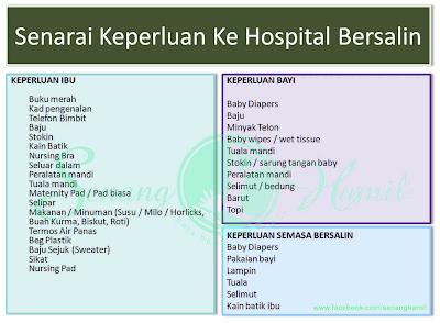 Image result for persiapan bersalin
