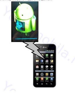 LG P970 зняти графічний ключ / Hard Reset