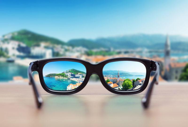 Gafas para tener perspectiva