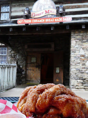 Dollywood home of the world's best cinnamon bread.