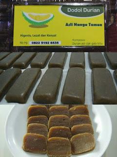 Lempok Durian Nanga Taman adalah Satu Di Antara Kuliner Bumi Lawang Kuari