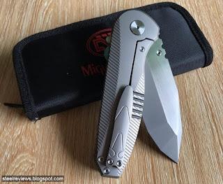 Samier Miguron titanium frame-lock flipper