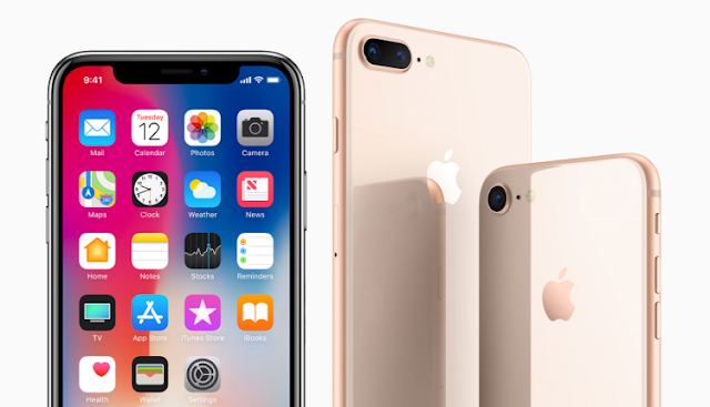 مواصفات هواتف ابل الجديدة IPhone 8 و IPhone 8 Plus و IPhone X