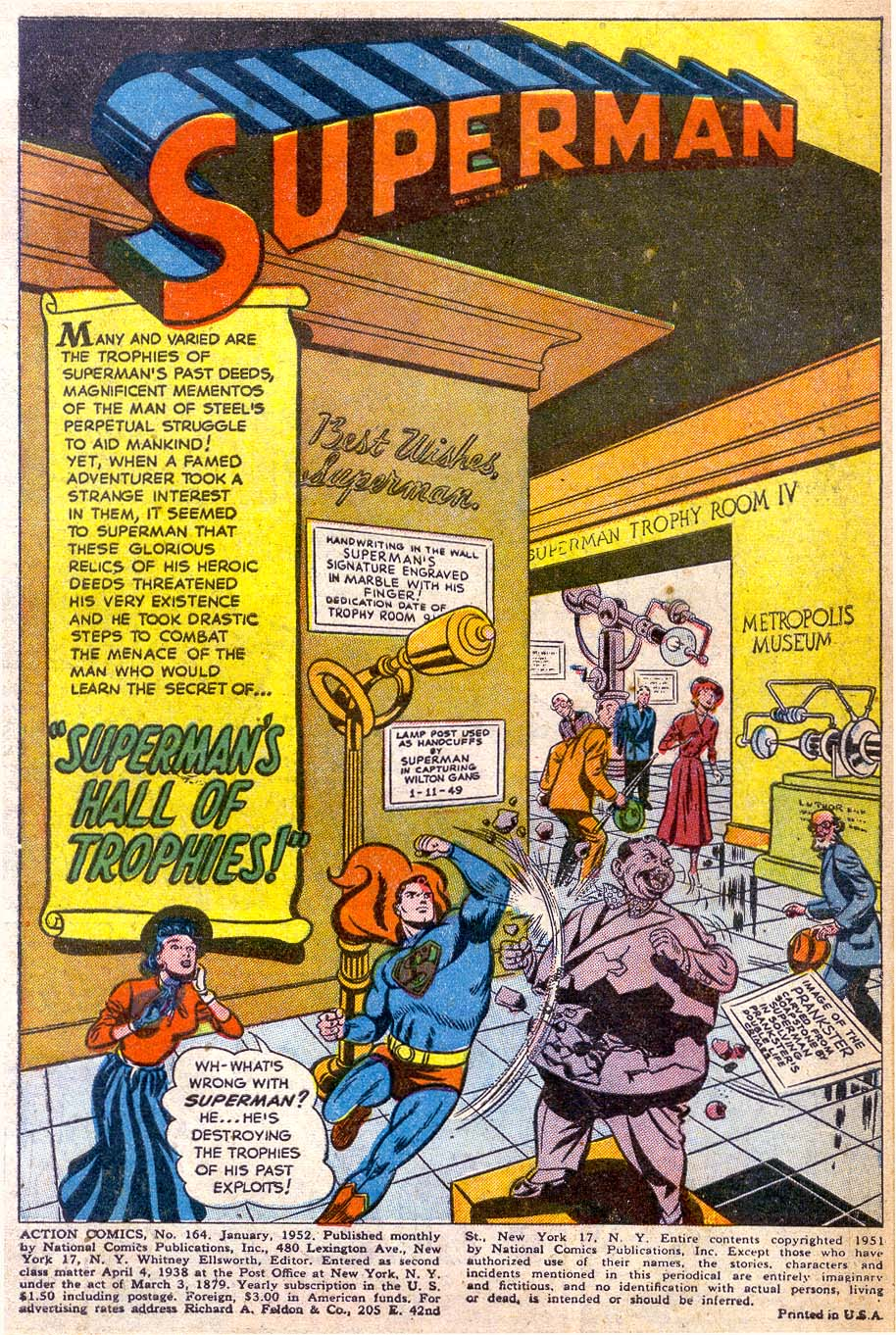 Read online Action Comics (1938) comic -  Issue #164 - 3
