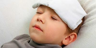 Cara Menurunkan Panas Pada Anak