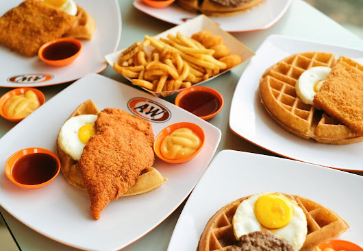 A&W Restaurant - ALL DAY BREAKFAST WAFFLES & POTATO CHEESE BALLS - FOODIRECTORY - Indonesian Food Blogger Based in Jakarta