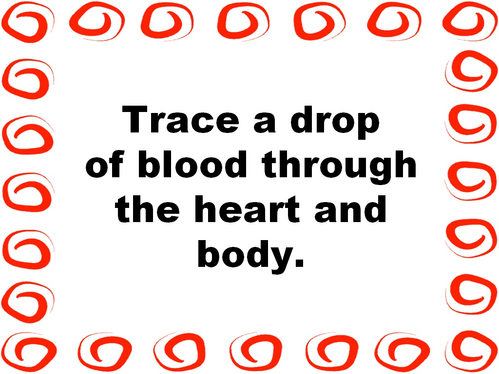 Student Survive 2 Thrive Trace A Drop Of Blood Through