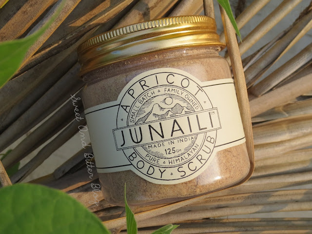 Junaili Body Scrub Cold Pressed Pure Himalayan Apricot Kernel Scrub Review
