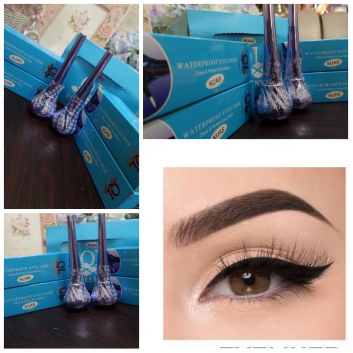 Eyeliner QL Waterproof Eye Liner Kuas QL Premium ber-BPOM