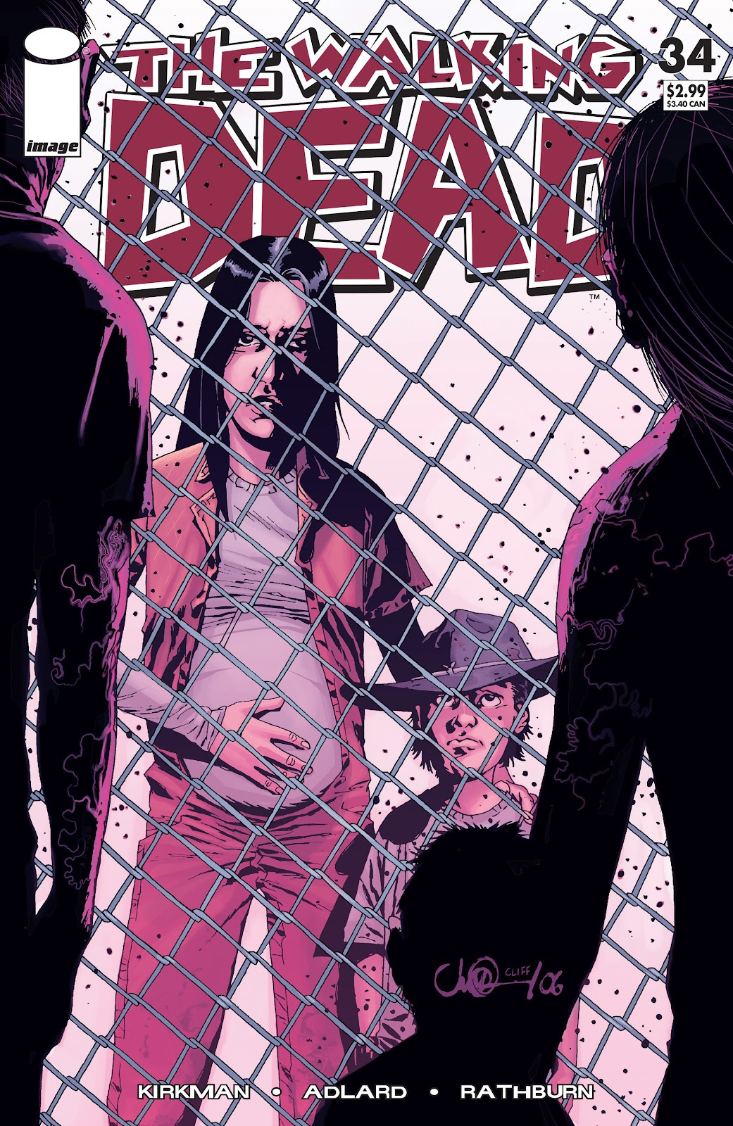 The Walking Dead issue 34 - Page 1